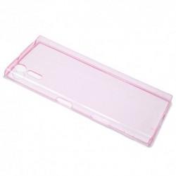 Futrola za Sony Xperia XZ leđa Ultra tanki protect - pink