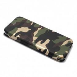 Futrola za iPhone 7 Plus/8 Plus preklop bez magneta bez prozora Army - model 1