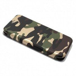 Futrola za iPhone X/XS preklop bez magneta bez prozora Army - model 1
