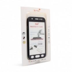 Futrola za iPhone 5/5s/SE preklop sa magnetom bez prozora Glitter - crna