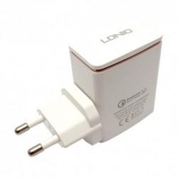 Kućni punjač Android micro Ldnio A1301Q (2,4 A | 1xUSB) - bela