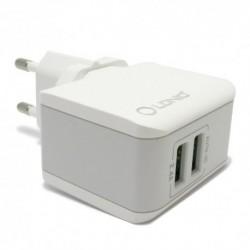 Kućni punjač iPhone Ldnio A2203 (2,4 A | 2xUSB) - bela