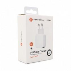 Kućni punjač Android micro Teracell Ultra fast LP04 (2 A | 1xUSB) - bela
