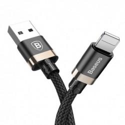USB data kabal za iPhone Baseus Golden belt (1m) - crno-zlatna