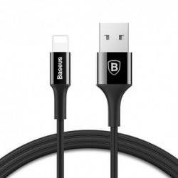 USB data kabal za iPhone Baseus Shining (1m) - crna