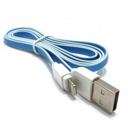 USB data kabal za iPhone Ldnio XS-07A (1m) - plavo-bela