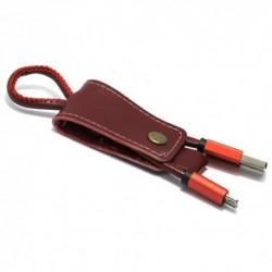 USB data kabal za Android micro Pendant - crvena