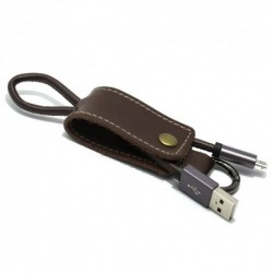 USB data kabal za Android micro Pendant - ljubičasta