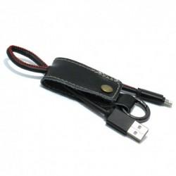 USB data kabal za iPhone Pendant - crna