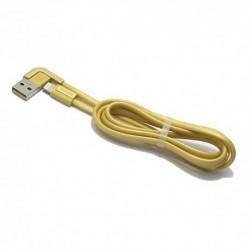 USB data kabal za iPhone Remax Cheynn RC-052i (1m) - zlatna