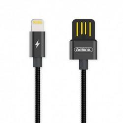 USB data kabal za iPhone Remax Tinned Copper RC-080 (1,2m) - crna