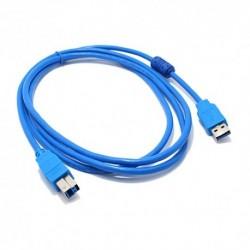 USB data kabal za USB na USB 3.0 (1,8m) - plava