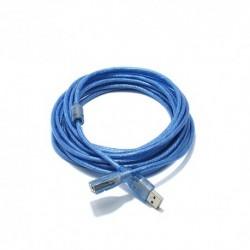 USB data kabal za USB na USB 2.0 produžni (5m) - plava
