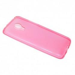 Futrola za Meizu MX4 leđa Ultra tanki silikon - pink