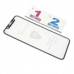 Zaštitno staklo za iPhone X/XS/11 Pro (2,5D) - crna