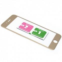 Zaštitno staklo za iPhone 7 Plus/8 Plus (zakrivljeno 3D) - zlatna