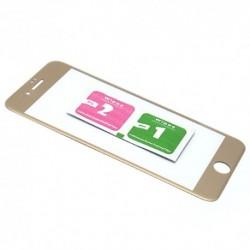 Zaštitno staklo za iPhone 7/8 (zakrivljeno 3D) - zlatna
