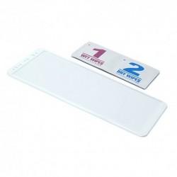 Zaštitno staklo za Samsung Galaxy Note 8 (zakrivljeno 3D) - bela