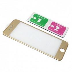 Zaštitno staklo za iPhone 7/8 (zakrivljeno 4D) - zlatna