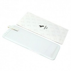 Zaštitno staklo za Samsung Galaxy S8 (zakrivljeno 3D) Baseus Arc - bela
