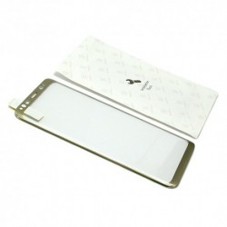 Zaštitno staklo za Samsung Galaxy S8 (zakrivljeno 3D) Baseus Arc - zlatna