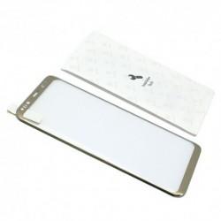 Zaštitno staklo za Samsung Galaxy S8 Plus (zakrivljeno 3D) Baseus Arc - zlatna