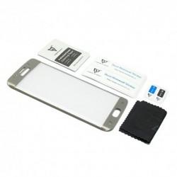 Zaštitno staklo za Samsung Galaxy S6 Edge (zakrivljeno 3D) MonsterSkin - zlatna