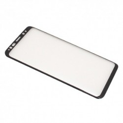 Zaštitno staklo za Samsung Galaxy S9 (zakrivljeno 3D) MonsterSkin - crna