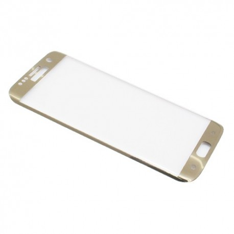 Zaštitno staklo za Samsung Galaxy S7 Edge (zakrivljeno 5D) MonsterSkin - zlatna