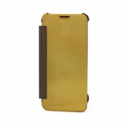 Futrola za iPhone 7/8/SE (2020)/SE2 preklop bez magneta bez prozora See - zlatna