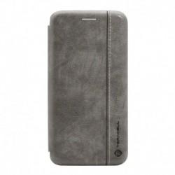 Futrola za Huawei P20 Pro preklop bez magneta bez prozora Teracell Leather - siva