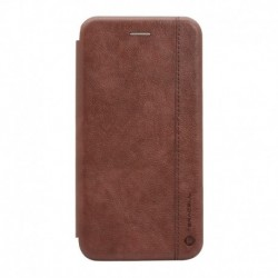 Futrola za iPhone 6 Plus/6s Plus preklop bez magneta bez prozora Teracell Leather - tamno braon