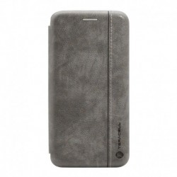 Futrola za iPhone 7/8/SE (2020)/SE2 preklop bez magneta bez prozora Teracell Leather - siva