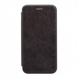 Futrola za iPhone X/XS preklop bez magneta bez prozora Teracell Leather - crna
