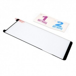Zaštitno staklo za Samsung Galaxy Note 8 (zakrivljeno 3D) Mini pun lepak NT - crna