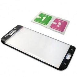Zaštitno staklo za Samsung Galaxy S6 Edge (zakrivljeno 3D) - crna