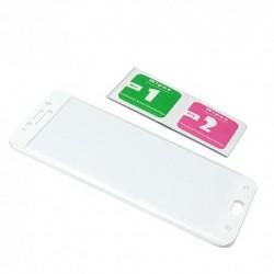 Zaštitno staklo za Samsung Galaxy S6 Edge Plus (zakrivljeno 3D) - bela