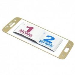 Zaštitno staklo za Samsung Galaxy S7 (zakrivljeno 3D) - zlatna
