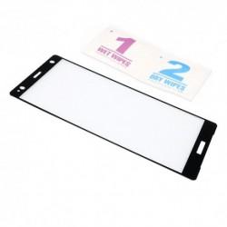 Zaštitno staklo za Sony Xperia XZ2 (zakrivljeno 3D) - crna