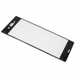 Zaštitno staklo za Sony Xperia XZ/XZs (zakrivljeno 3D) - crna