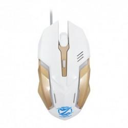 Miš Z037 optički - zlatno-bela