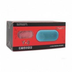 Zvučnik bluetooth BTS07/MB mini - crvena