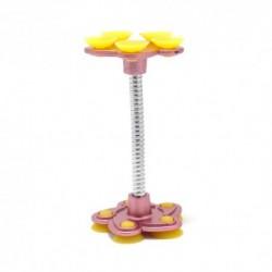 Auto držač (stalak) sa vakumom SunFlower - žuto-roza