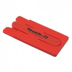 Auto držač (stalak) sa vakumom Touch E - crvena