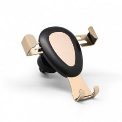 Auto držač (stalak) za ventilaciju Automatic lock - zlatna