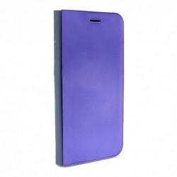 Futrola za iPhone 7/8/SE (2020)/SE2 preklop bez magneta bez prozora Clear view - ljubičasta