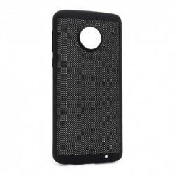 Futrola za Motorola Moto G6 Plus leđa PVC Breath - crna