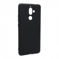 Futrola za Nokia 7 Plus leđa Ultra tanki kolor - crna