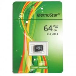 Memorijska kartica (64Gb) C10 MicroSD - Memostar