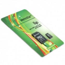 Memorijska kartica (8Gb) C10 MicroSD i adapter - MemoStar